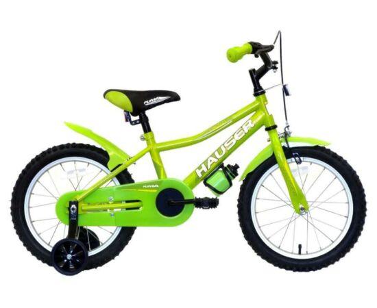 Hauser Puma 16-os BMX kerékpár, zöld