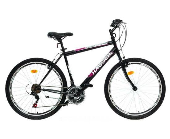 Hauser Wildcat férfi 26-os MTB kerékpár, acél, 18s, 20-as, fekete