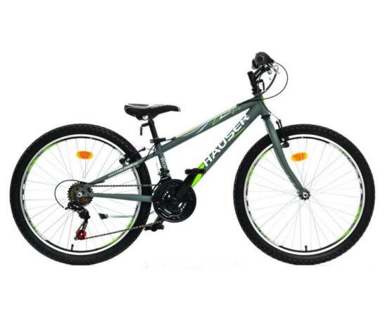 Hauser Wolf 24-es fiú kerékpár, 18s, acél, matt grafit