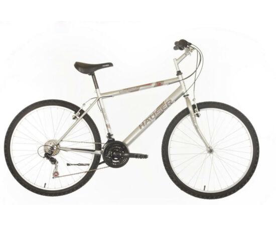 Hauser Galaxy férfi 26-os MTB kerékpár, acél, 18s, 20-as, ezüst