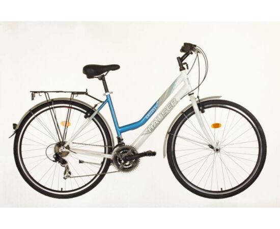 Hauser Grizzly 18-as NŐI kerékpár fehér - kék