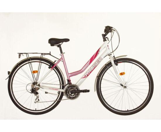 Hauser Grizzly 18-as NŐI kerékpár fehér - rózsaszín