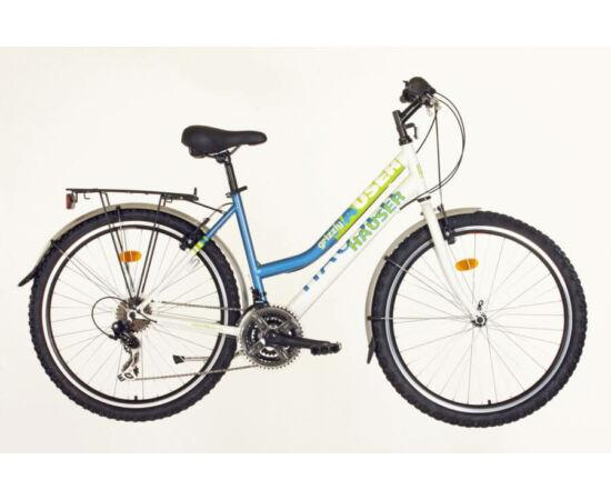 Hauser Grizzly City NŐI kerékpár fehér - kék