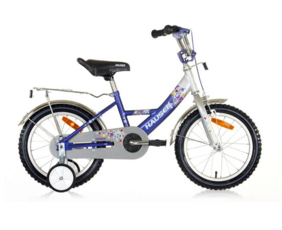 """Hauser Swan 16"""" BMX kerékpár ezüst - kék"""