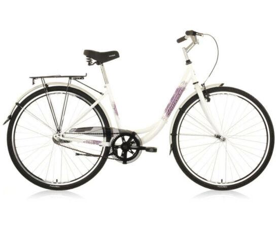 Hauser Swan NŐI kerékpár fehér, 1 seb