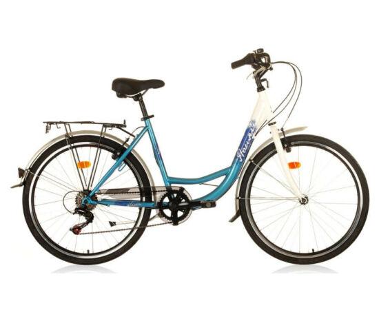 Hauser Swan NŐI kerékpár fehér - világos kék, 6 seb