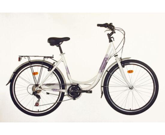 Hauser Swan NŐI kerékpár fehér, 6 seb