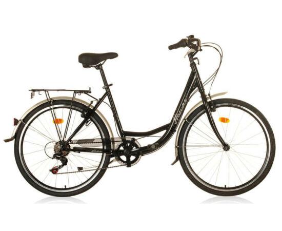Hauser Swan NŐI kerékpár fekete, 6 seb