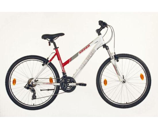 Hauser Winner NŐI kerékpár 18-as fehér - piros
