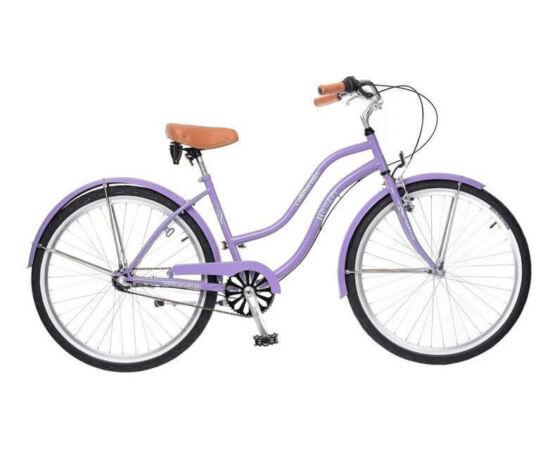 Neuzer California 26-os női cruiser kerékpár, agyváltós (3s), világoskék