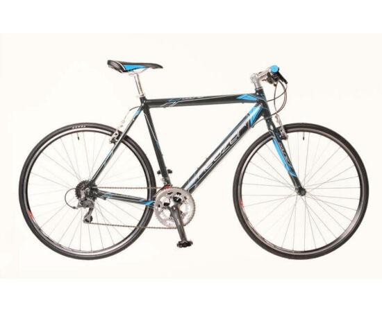 Neuzer Courier DT férfi 28-as cross kerékpár, alumínium, 16s, 56 cm, szürke-kék