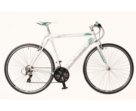 Neuzer Courier férfi 28-as cross kerékpár, alumínium, 21s, 52 cm, fehér-türkiz