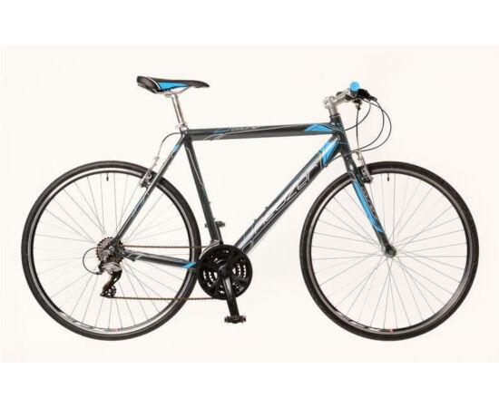 Neuzer Courier férfi 28-as cross kerékpár, alumínium, 21s, 50 cm, szürke-kék