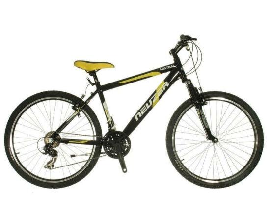 Neuzer Mistral 50 férfi hobbi MTB kerékpár 19-es fekete-sárga
