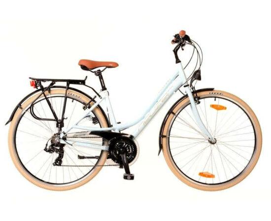 Neuzer Ravenna 50 női 28-as trekking kerékpár, 21s, alumínium, 19-es, világoskék-fehér-krém