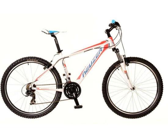 Neuzer Storm férfi 26-os MTB kerékpár, 21s, alumínium, 19-es, fehér-piros-kék