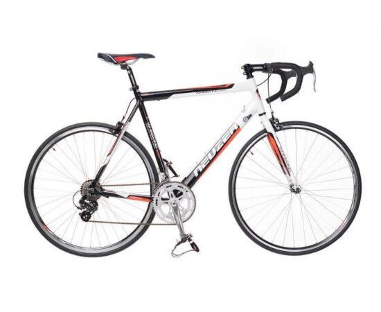 Neuzer Whirlwind Basic országúti kerékpár, 14s, alumínium, 48 cm, fehér-fekete-piros