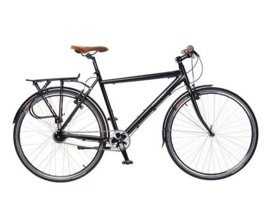 Neuzer X-Street férfi 28-as trekking kerékpár, agyváltós (8s), alumínium, 19-es, fekete-fehér