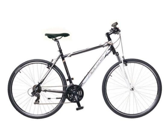 Neuzer X1 férfi 28-as cross kerékpár, 21s, alumínium, 19-es, fekete-fehér-bronz