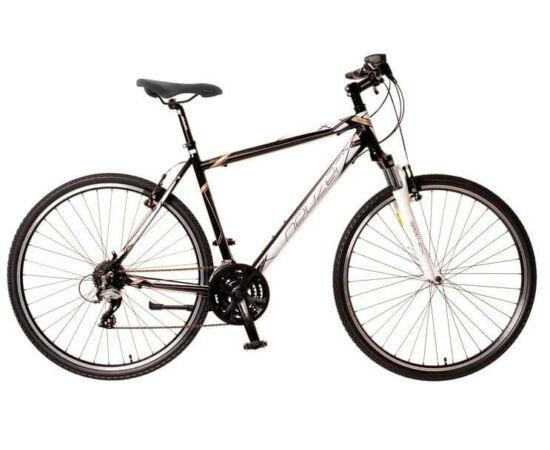 Neuzer X2 férfi 28-as cross kerékpár, 24s, alumínium, 21-es, fekete-fehér-bronz