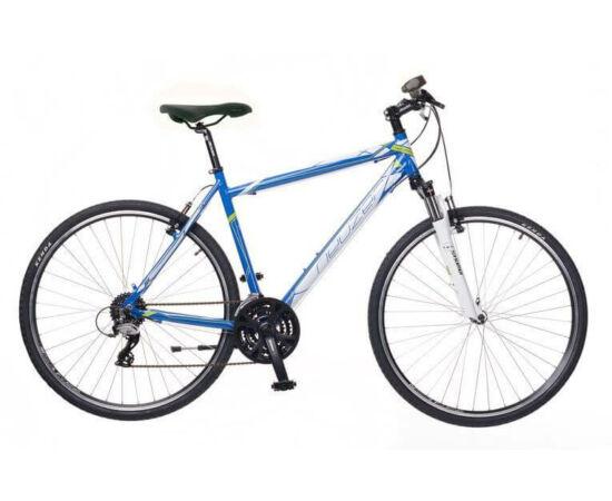 Neuzer X2 férfi 28-as cross kerékpár, 24s, alumínium, 21-es, kék-fehér-zöld