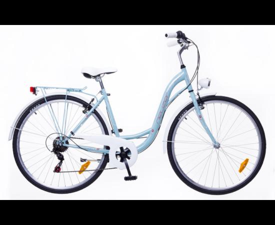 Neuzer Ravenna 6 Plus női városi kerékpár, celeste
