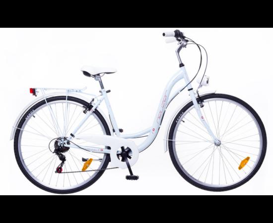Neuzer Ravenna 6 Plus női városi kerékpár, sötétkék