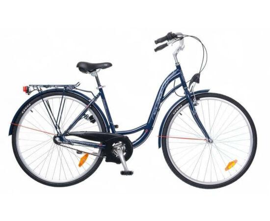Neuzer Ravenna N3 28-as női városi kerékpár, agyváltós, sötétkék