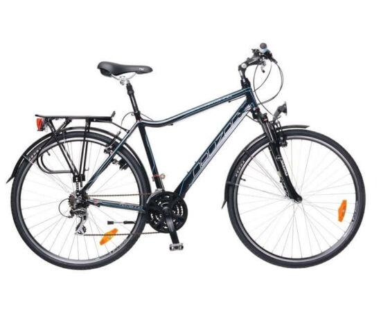Neuzer Ravenna férfi trekking kerékpár 17-es fekete-cián