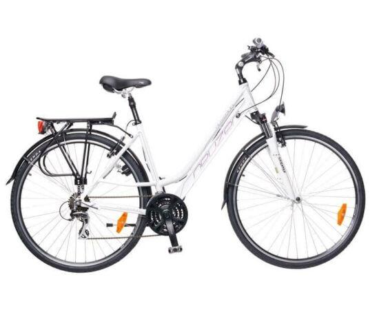 Neuzer Ravenna női trekking kerékpár 17-es fehér-lila