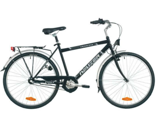 Neuzer Venezia N3 26-os férfi városi agyváltós kerékpár, fekete, 21-es