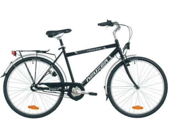 Neuzer Venezia N3 26-os férfi városi agyváltós kerékpár, fekete, 17-es