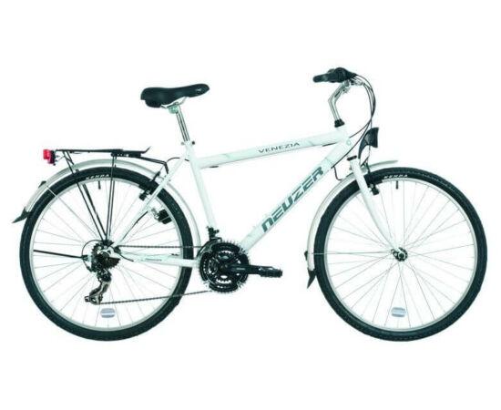 Neuzer Venezia 30 26-os férfi városi kerékpár, fehér, 21-es
