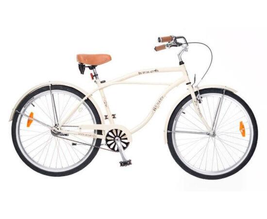 Neuzer Beach 26-os férfi cruiser kerékpár, krém