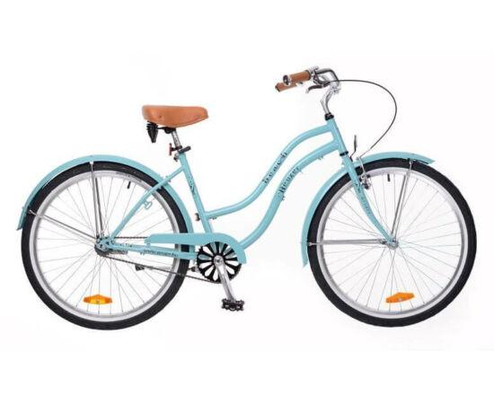 Neuzer Beach 26-os női cruiser kerékpár, kék / celeste