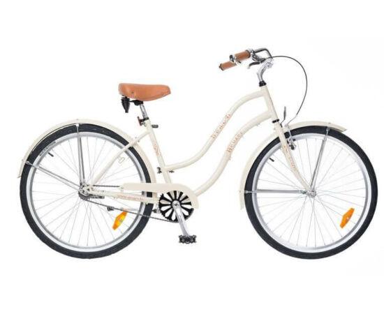Neuzer Beach 26-os női cruiser kerékpár, krém