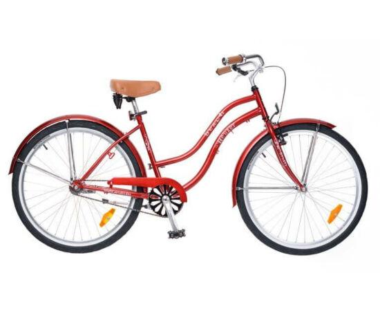 Neuzer Beach 26-os női cruiser kerékpár, bordó