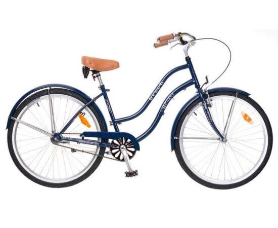 Neuzer Beach 26-os női cruiser kerékpár, sötétkék