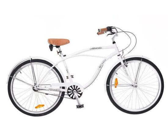 Neuzer California 26-os férfi cruiser kerékpár, agyváltós (3s), fehér