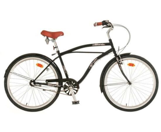 Neuzer California 26-os férfi cruiser kerékpár, agyváltós (3s), fekete
