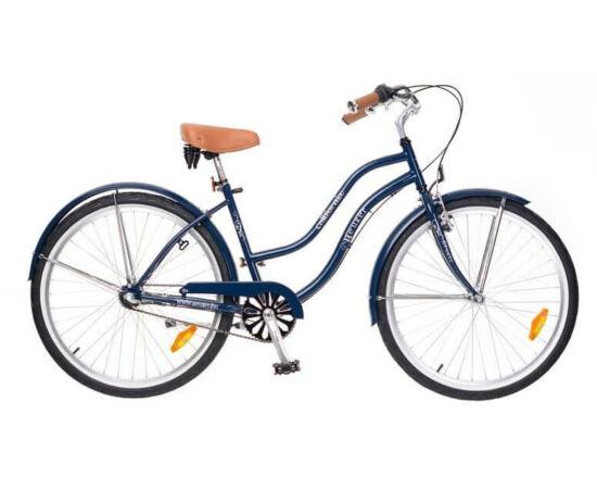 Neuzer California 26-os női cruiser kerékpár, agyváltós (3s), sötétkék