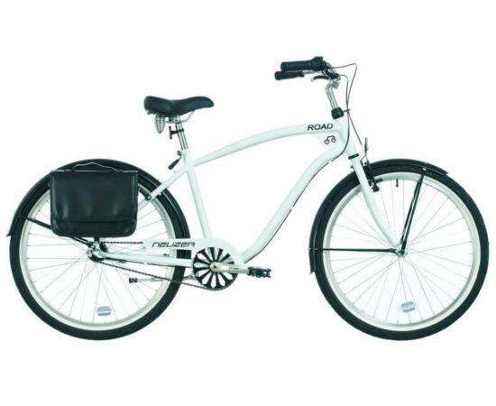Neuzer Road 26-os férfi cruiser kerékpár, agyváltós (3s), fehér