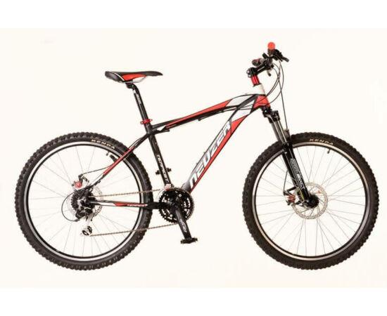 Neuzer Tempest-D férfi 26-os MTB kerékpár, 24s, 19-es,  fekete-piros-fehér