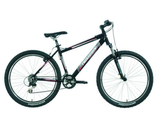 """Neuzer Tempest férfi sport 26"""" MTB kerékpár 19-es fekete-piros"""