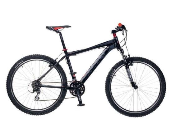 """Neuzer Storm Plus férfi hobbi 26"""" MTB kerékpár 17-es fekete-szürke-piros"""