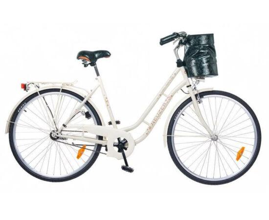 Neuzer Classic Premium 28-as női városi kerékpár, krém