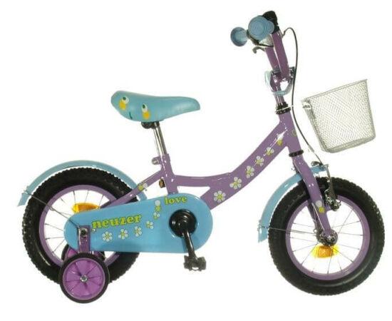 Neuzer 12-es BMX lány kerékpár, lila