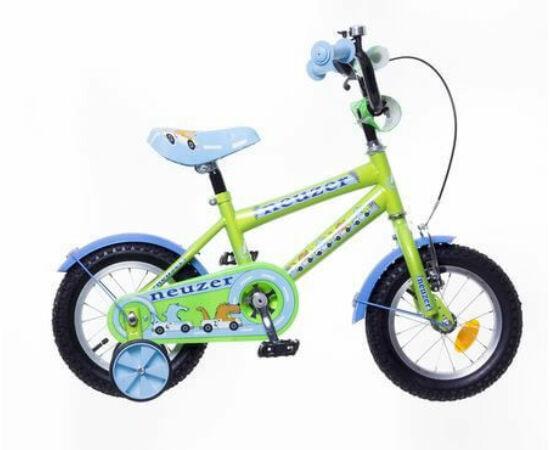 Neuzer 12-es BMX fiú kerékpár, neonzöld