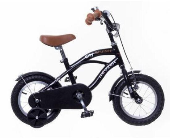 Neuzer Cruiser 12-es gyerek kerékpár, fekete