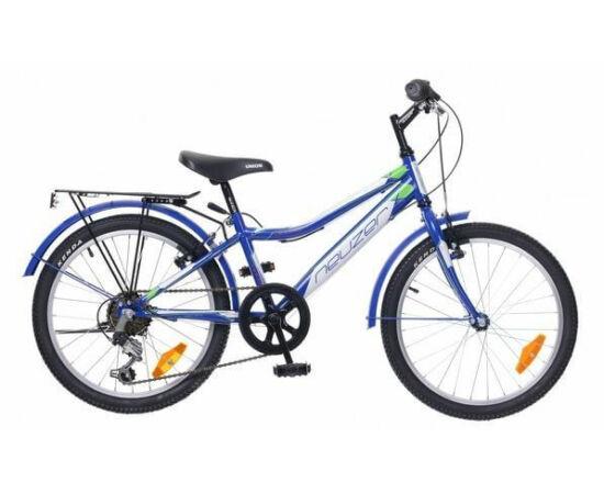 Neuzer Bobby City 20-as, 6 sebességes fiú kerékpár, kék-fehér